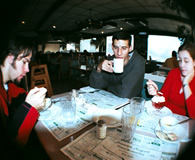 Coffee at the Diner